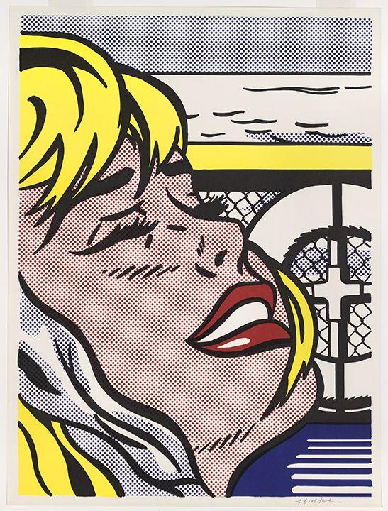 Roy Lichtenstein Shipboard Girl, 1965