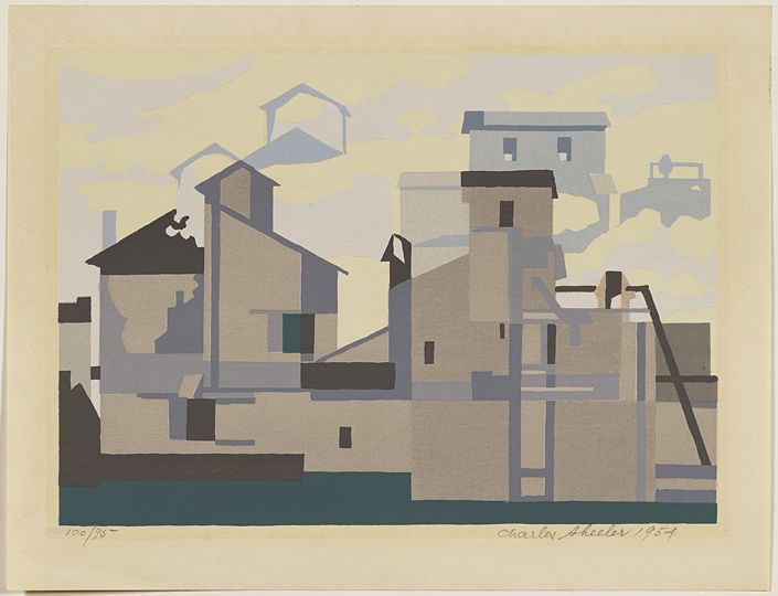 Charles Sheeler Architectural Cadence, 1954