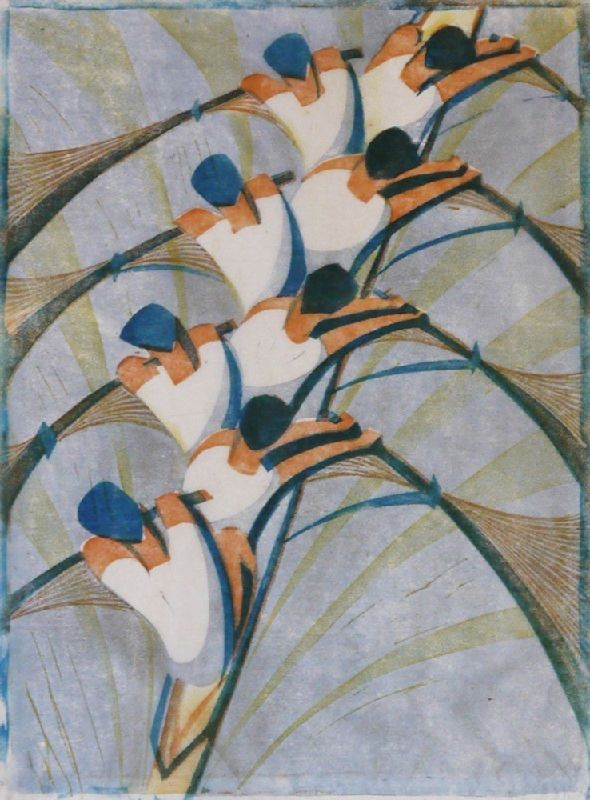 Cyril Power, The Eight, c. 1930.