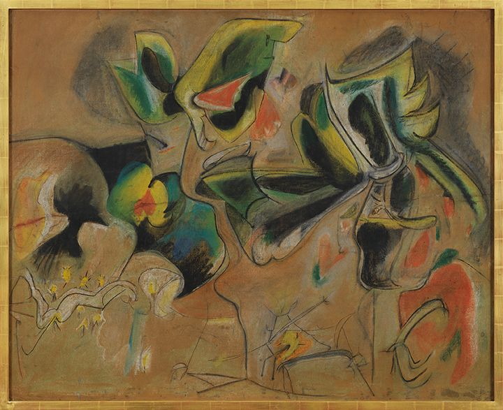 Arshile Gorky Apple Orchard, c. 1943-46