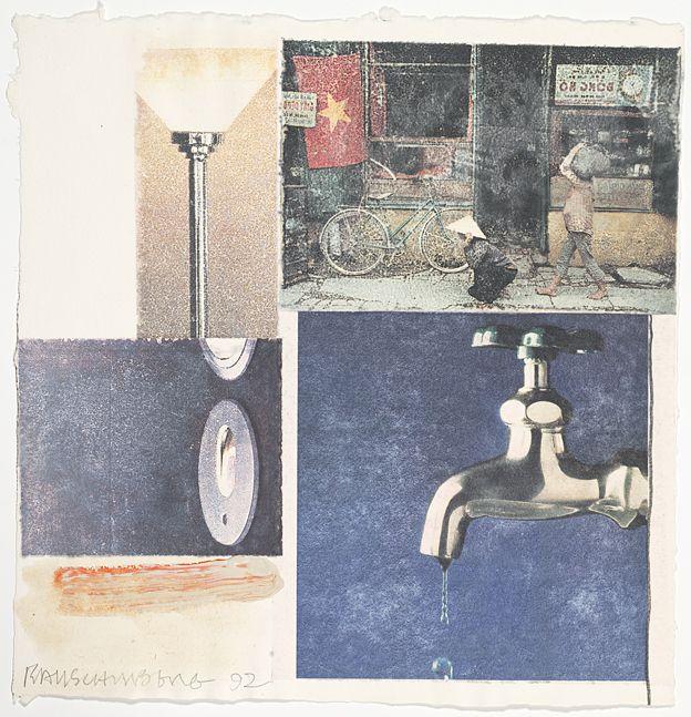 Robert Rauschenberg Untitled (Gift to Ileana Sonnabend), 1992