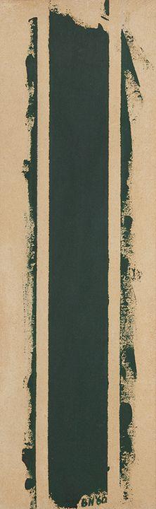 Barnett Newman Treble, 1960