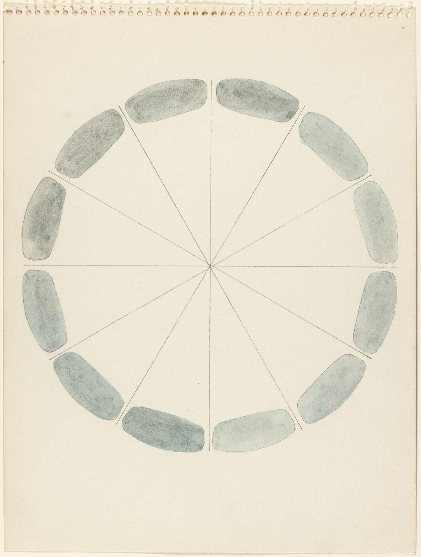 Richard Tuttle,Any Grey, 1972.
