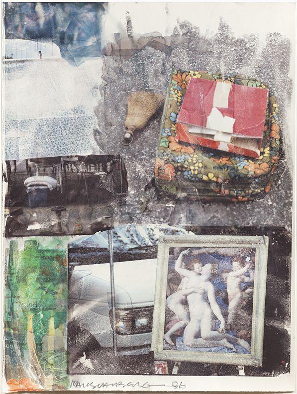 Robert Rauschenberg Untitled (Gift to Ileana Sonnabend), 1996