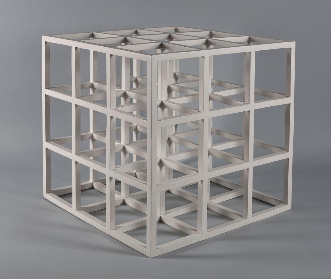 Sol LeWitt 3 x 3 x 3, 1965