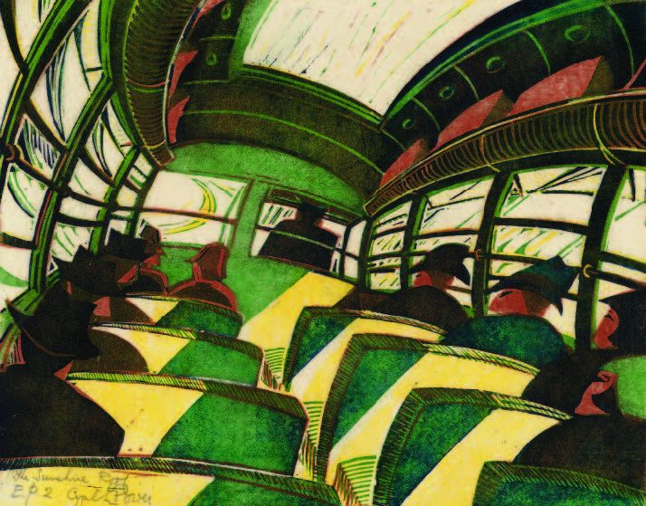 Cyril Power, The Sunshine Roof, c. 1934.