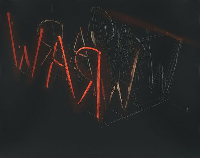 Bruce Nauman Raw War, 1971