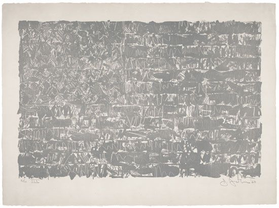 Jasper Johns, Flag III, 1960.