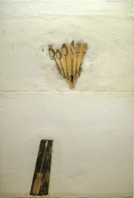 Robert Rauschenberg Untitled (Ileana Forever), 1971