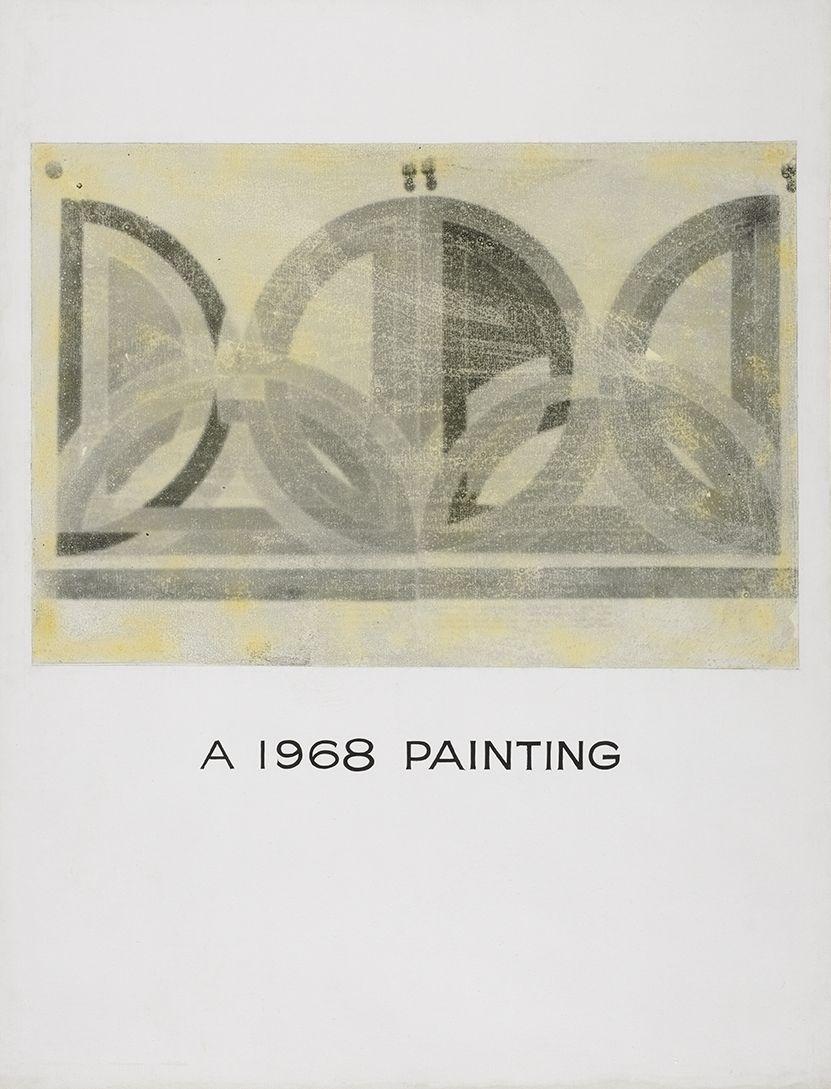 John Baldessari A 1968 Painting, 1966-68