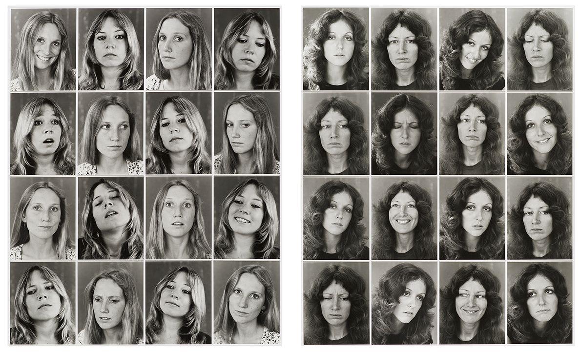 William Wegman,Blondes / Brunettes, 1972.