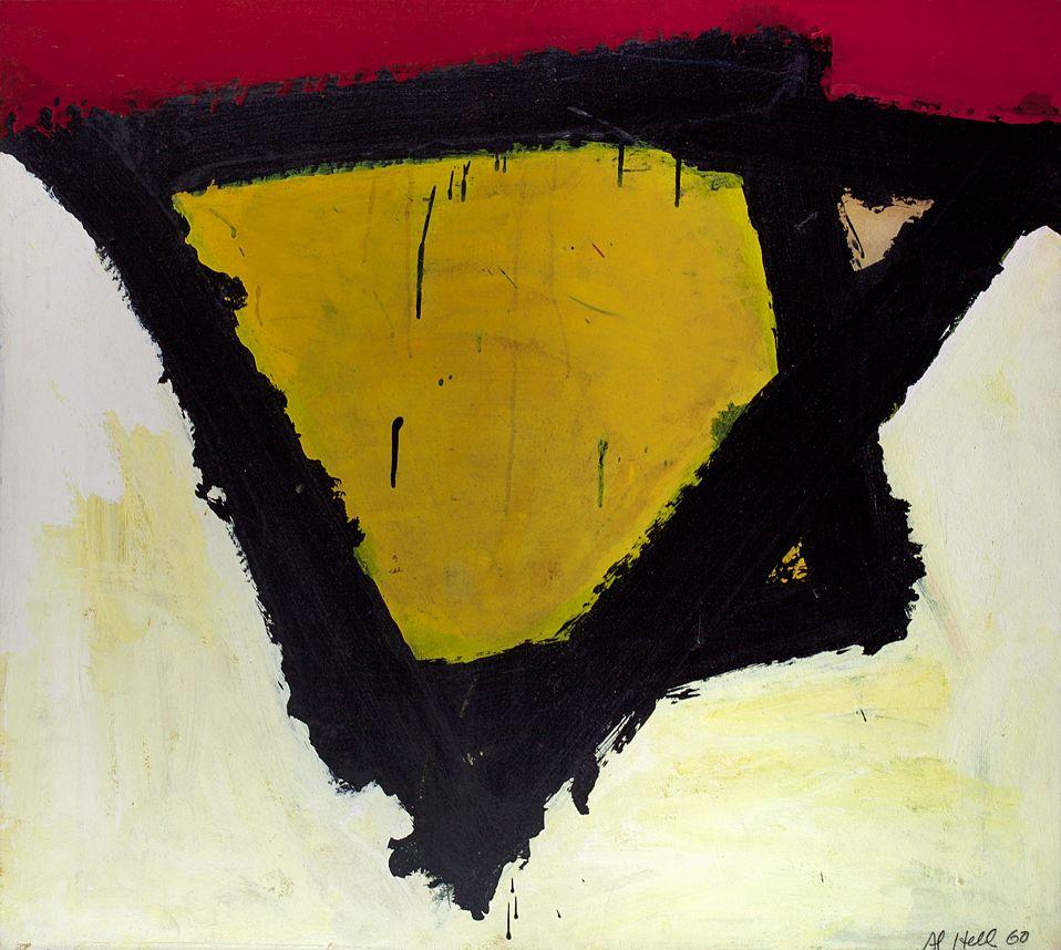 """Al Held Untitled """"N,""""1960"""