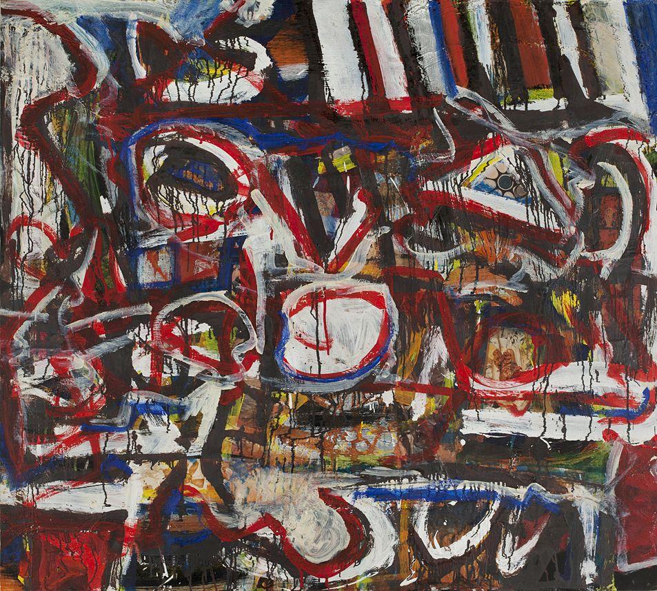 Al Held Untitled, 1959