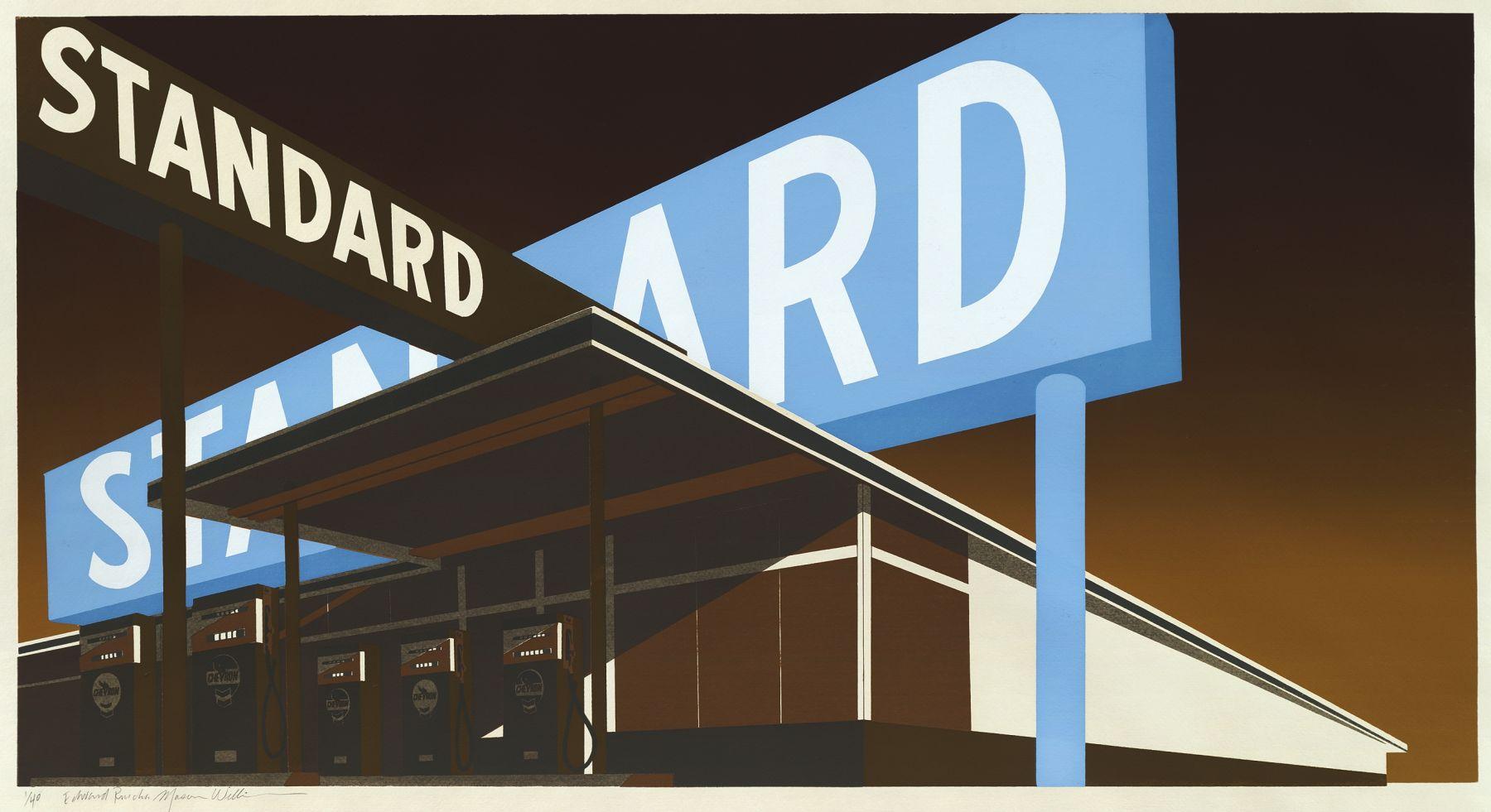 Edward Ruscha Double Standard, 1969
