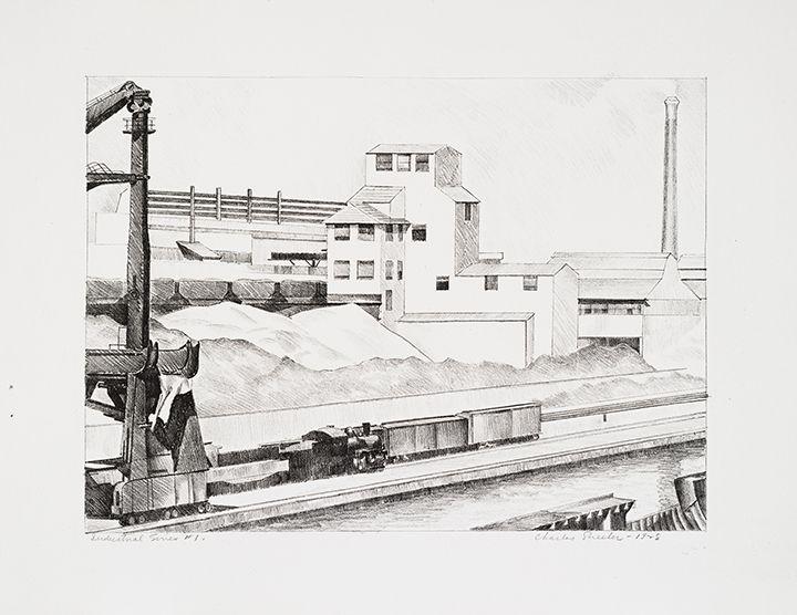 Charles Sheeler Industrial Series #1, 1928