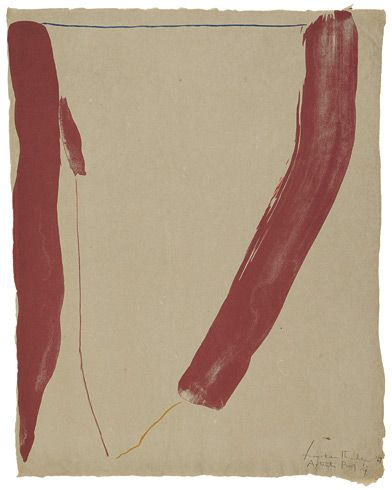 Helen Frankenthaler, A Slice of the Stone Itself, 1969.