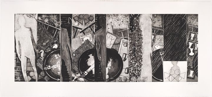 Jasper Johns, Seasons, 1989.