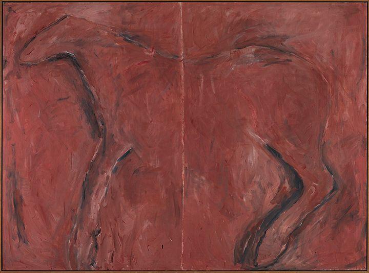 Susan Rothenberg Split, 1974