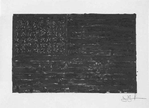 Jasper Johns,Flag, 1972/94.