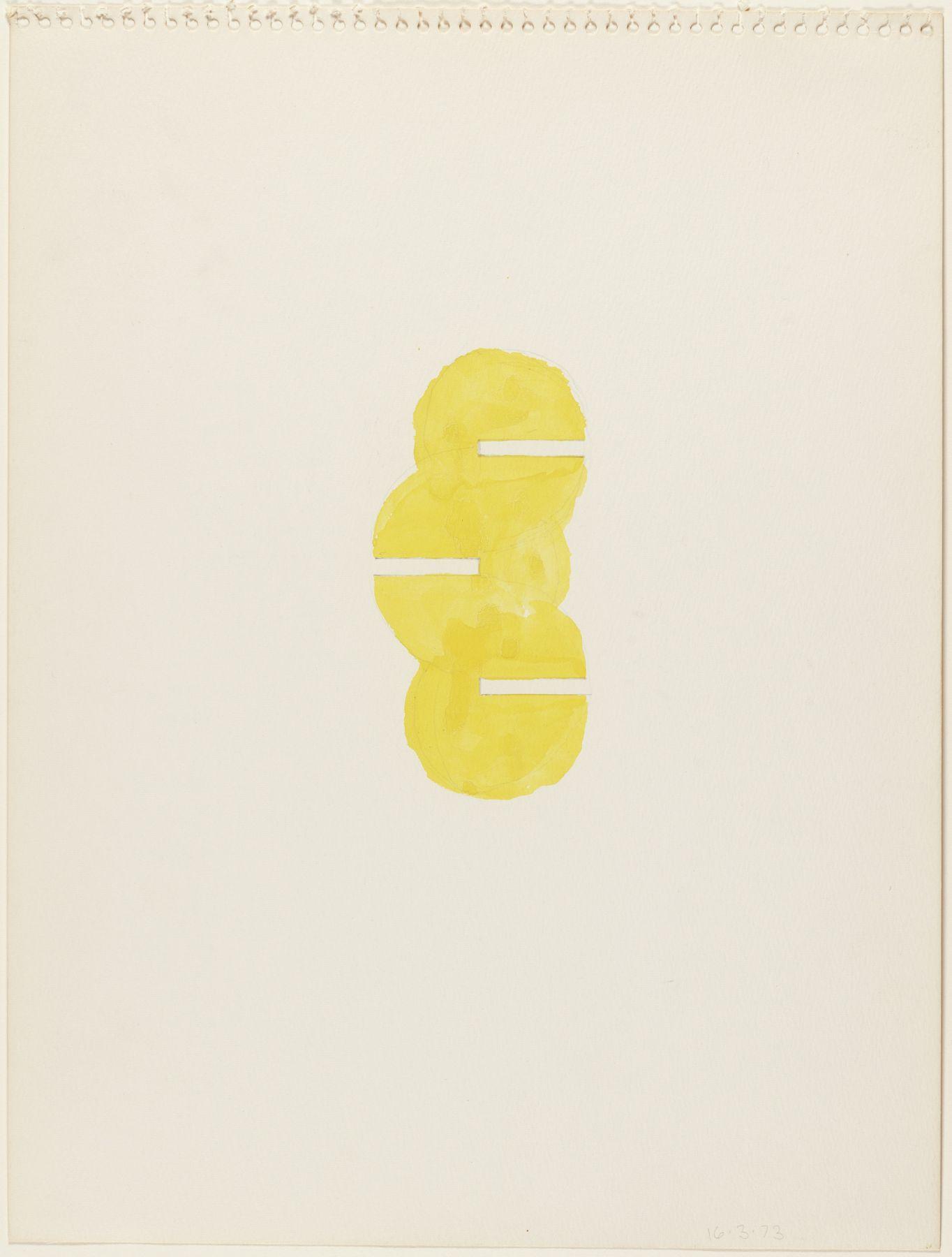 Richard Tuttle,One Way, 1967.