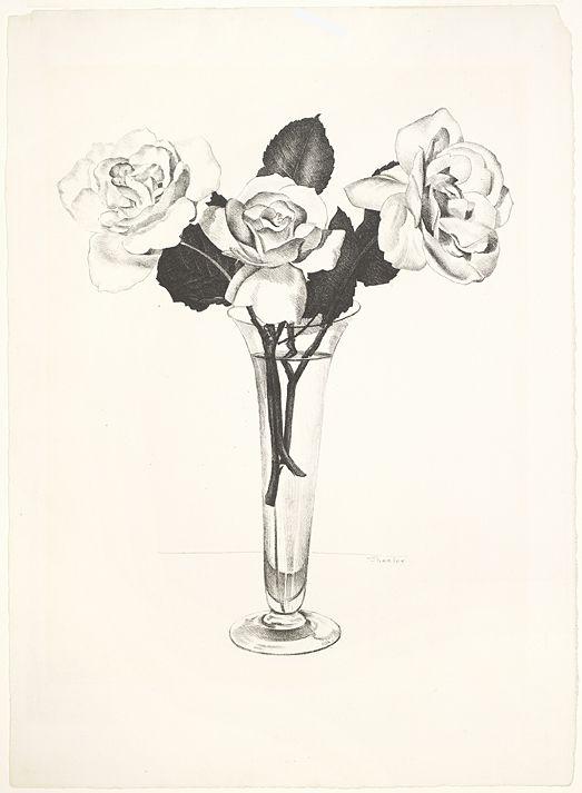 Charles Sheeler Roses, 1924