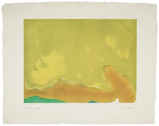 Helen Frankenthaler, Yellow Span, 1968.