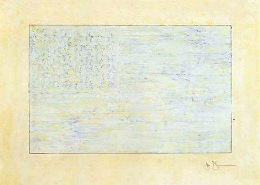 Jasper Johns, Flag, 1972/94.