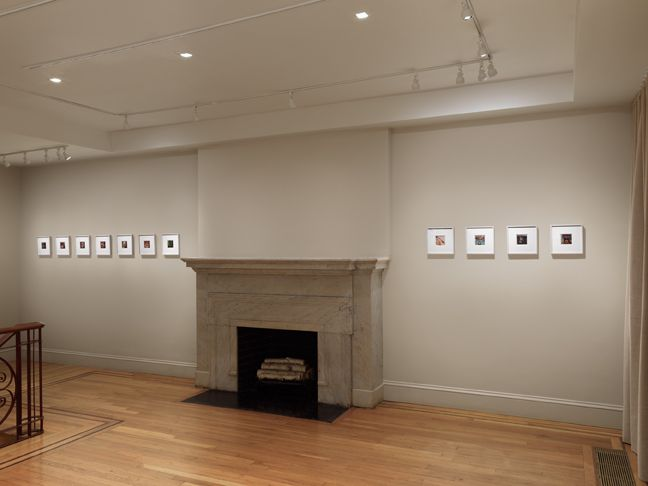 "Installation view of ""Lucas Samaras: Photo-Transformations"". Photograph by Dan Bradica. ,"