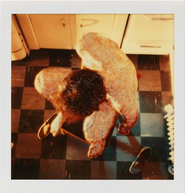 Lucas Samaras (b. 1936)Photo-Transformation, 12/30/73 Instant dye diffusion transfer print (Polaroid SX-70, manipulated)3 1/8 x 3 1/18 inches, image4 1/4 x 3 1/2 inches, overall