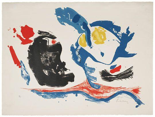 Helen Frankenthaler, First Stone, 1961.