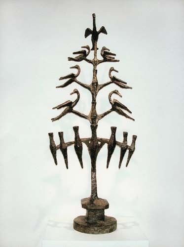 Chanukah Lamp, 1965