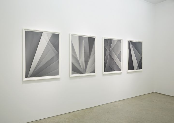 Installation view Alyson Shotz, Double Fold, 2013