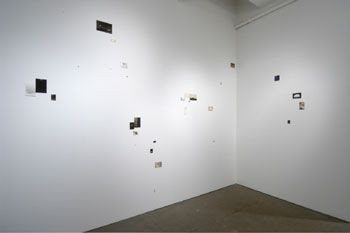 F-#170, 2008, Unique installation of 22 gelatin silver prints (F-#168, F-#167, F-#165, F-#166, F-#169, and F-#171), Signed template in special wooden box