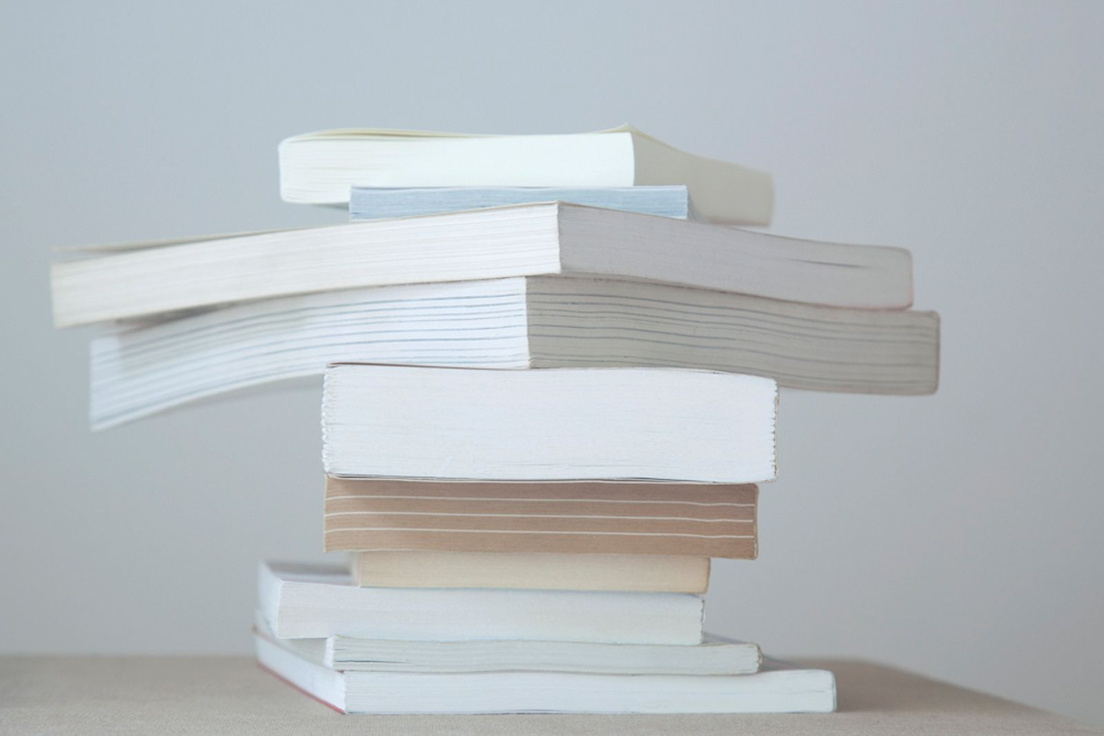 Untitled 22, from the series Paperbacks, 2009. Archival pigment print, 16 x 22 inches.