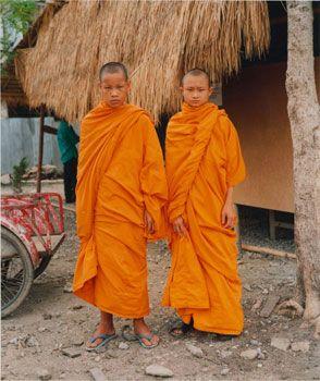 Two Novice Monks, June 1997