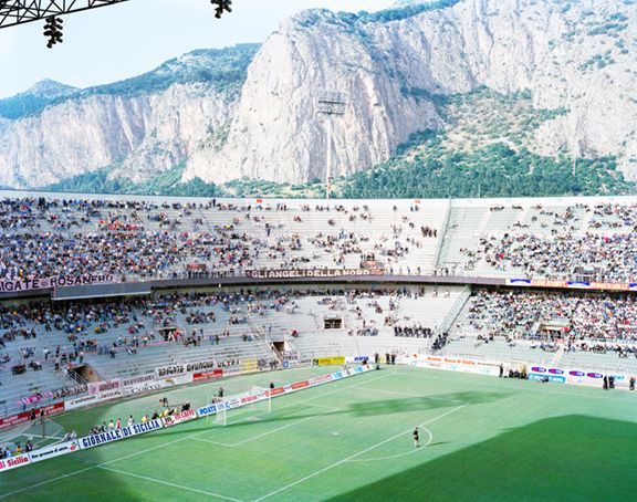 Stadio Palermo, 1999, 45 x 60 inch or 65 x 85 inch archival pigment print