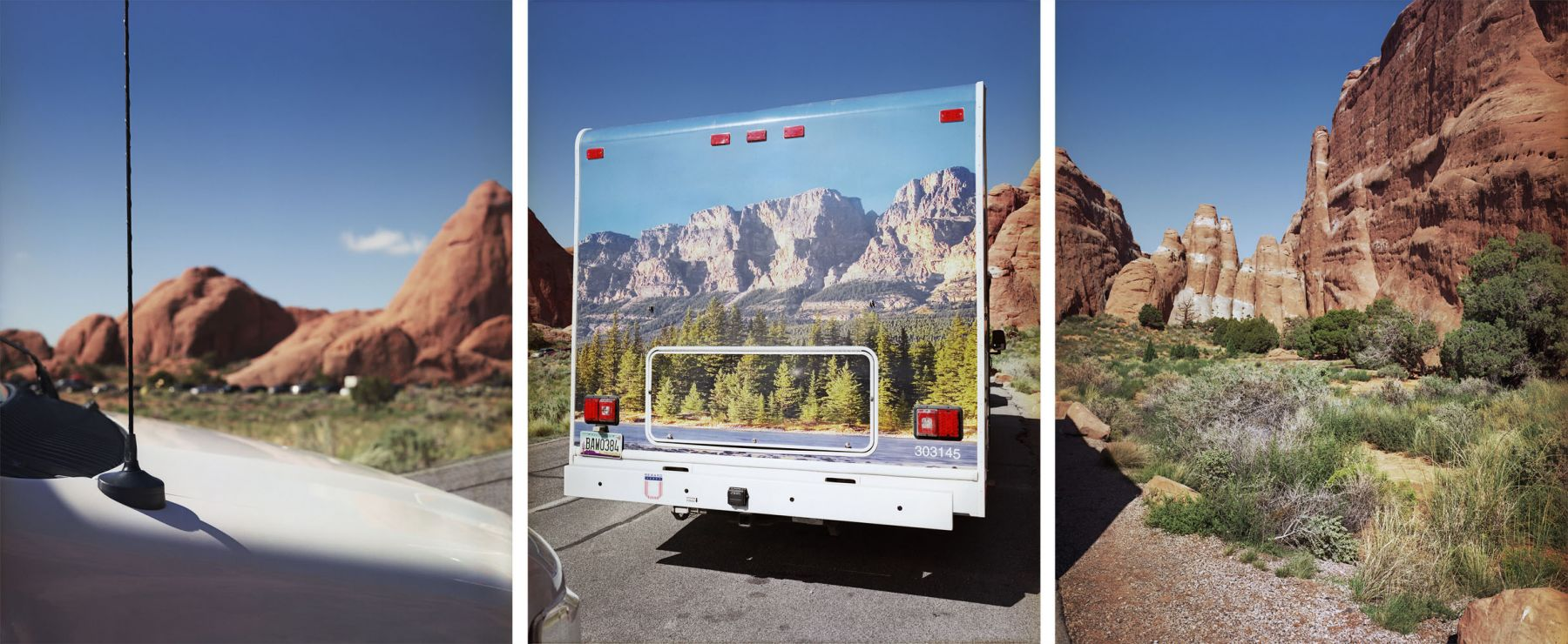 Final Destination, 2013. Three-panel archival pigment print, available as 24 x 60 or 40 x 90 inches.