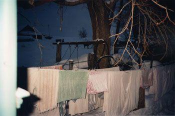 Vera's Laundry, Apanas, 1993, 16 x 20 inch Chromogenic Print,