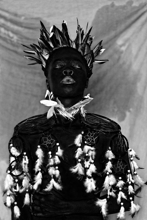 Zanele Muholi,Bukhosi II, Parktown,2016. Gelatin silver print, image size 24 x 16 inches, paper size 28 x 20 inches.