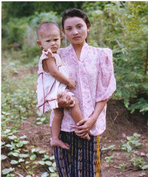 Nyunt Nyunt and Hla Ya Min, May 1997