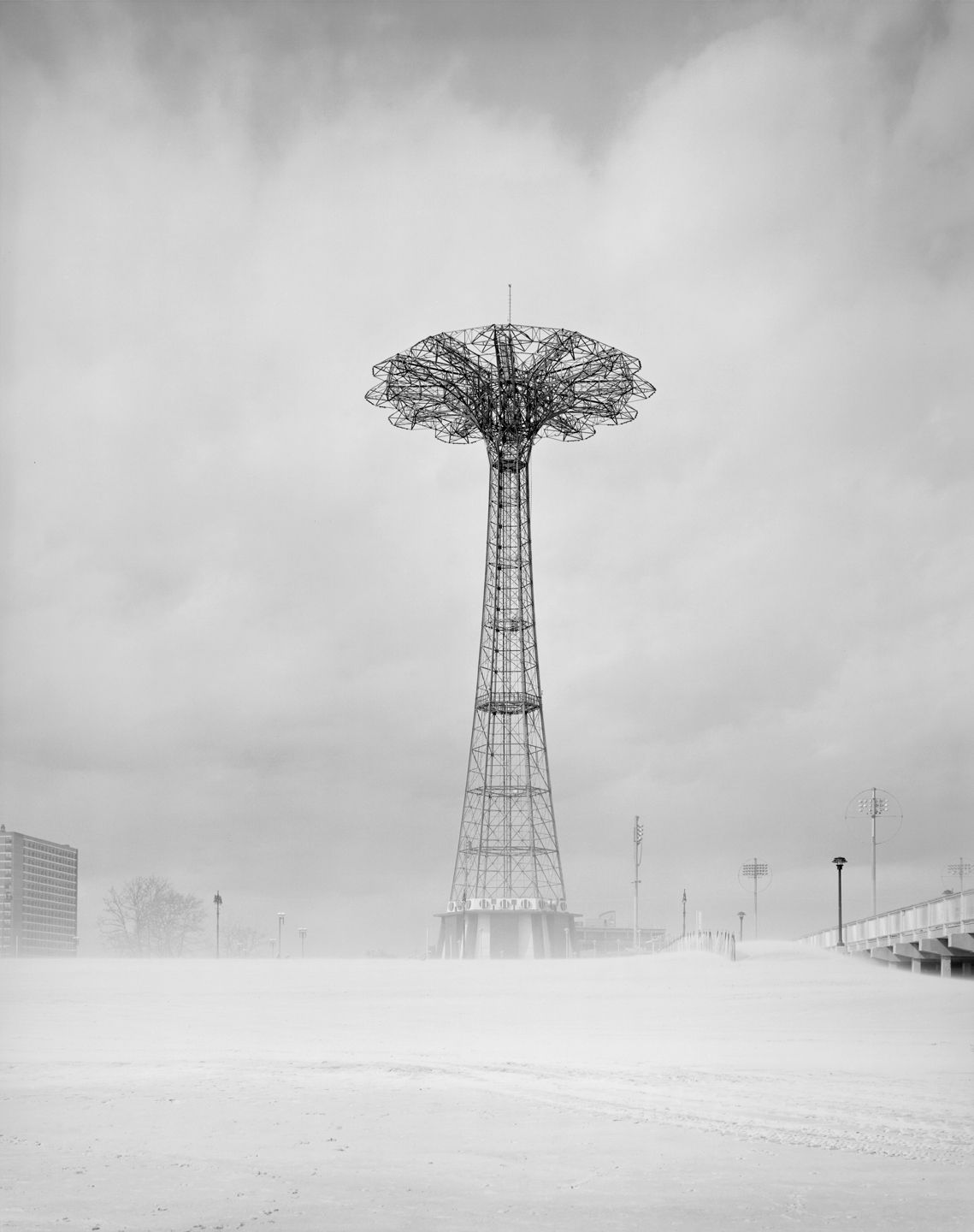Clouds #67, New York City, from the series Rocks and Clouds, 2014.Gelatin silver print, 40 x 30or 68x 54inches.