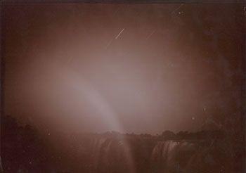 Moonbow, Victoria Falls, Zimbabwe, 1996