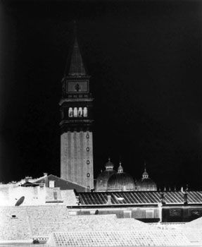 """Campo San Moise, Venice, March 2, 2006"", 2 of 6 from the ""Venice Portfolio I"", 25 x 21 inch Gelatin Silver Print, Selenium toned and mounted, framed."