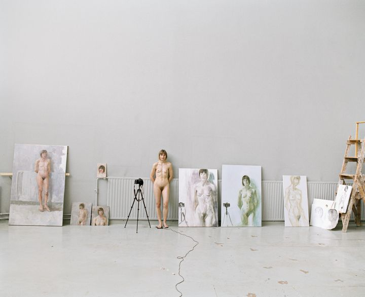 Artists at Work 9, 2009, Archival Pigment Print, 27.5 x 34.5 inches