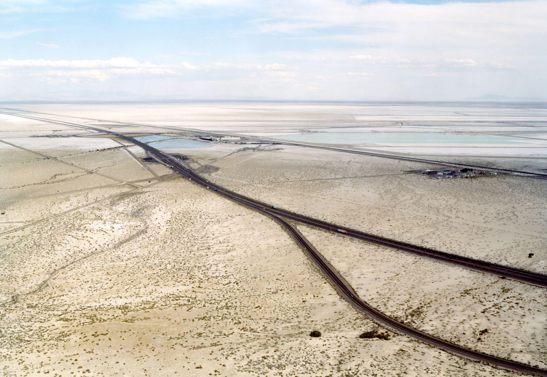 Untitled, Potash Mine, Wendover, Utah, 2004, 39 x 55 inch or 55 x 75 inch chromogenic print.