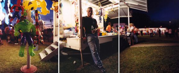 Hulk, 2003.Three-panel archival pigment print, available as24 x 60 or 40 x 90 inches.