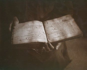 Sacred Text, Ethiopian Church, Jerusalem, 1995