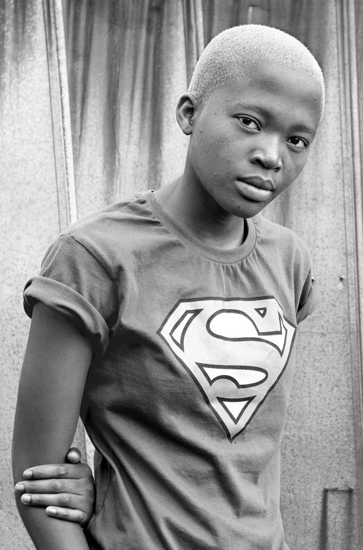 Mbali Zulu KwaThema Springs, Johannesburg (2010). Gelatin Silver Print. Image: 30 x 19.75 inches. Paper: 34.25 x 24 inches. Edition of 8.,
