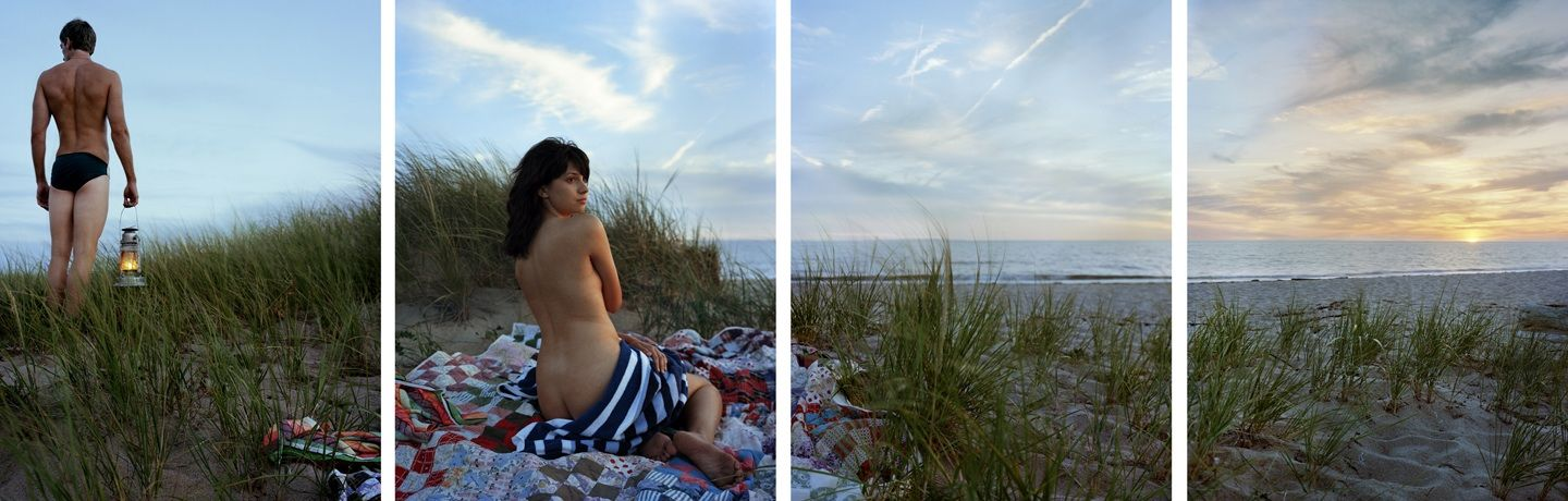 Herring Cove, 2010. Four-panel archival pigment print, available as 24 x 80 or 40 x 120 inches.