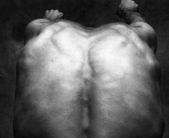 Mario Cravo Neto, Francisco Back II, 1987, 15 x 15 inch Gelatin Silver Print, Signed & dated in margin, Edition of 25